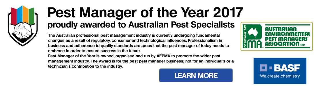 AEPMA Pest Manager of the Year